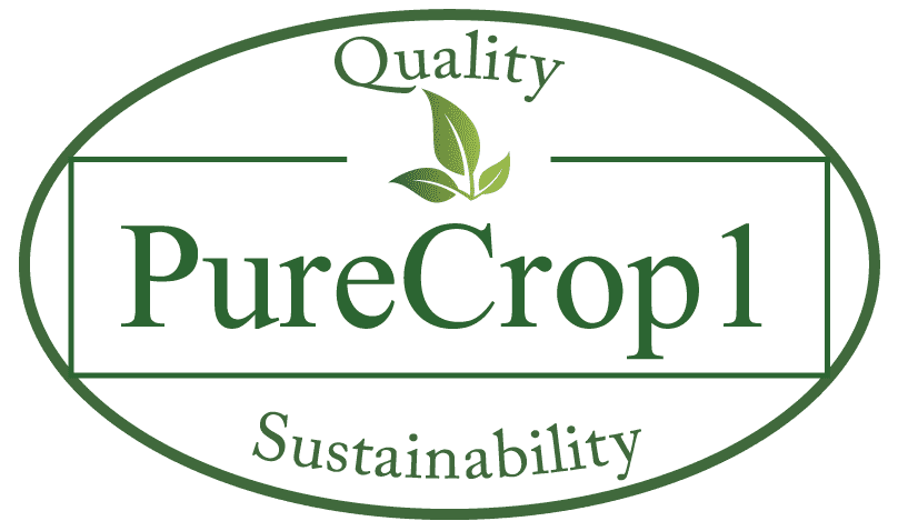 PureCrop1 Quality and Sustainability seal